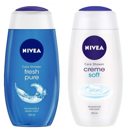 Nivea Creme Soft & Fresh Pure Gel 250ml (Pack of 2)