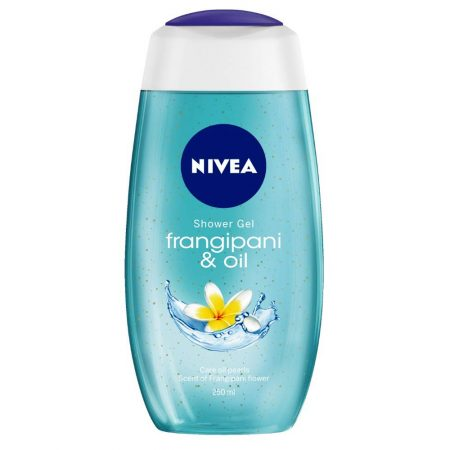 Nivea Creme Soft & Frangipani Oil Gel 250ml (Pack of 2)