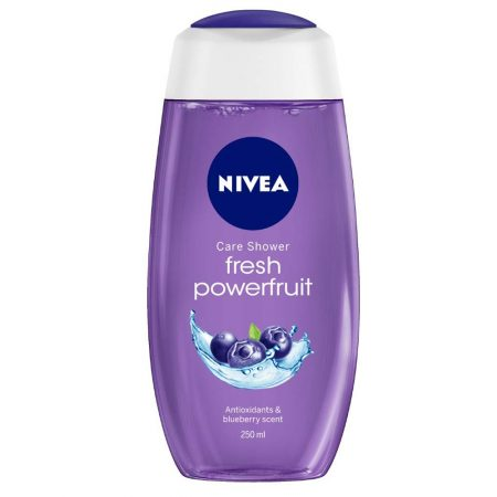 Nivea Creme Soft & Fresh Powerfruit Gel 250ml (Pack of 2)
