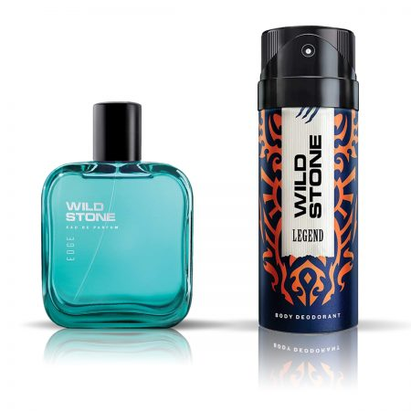 Wild Stone Legend Deodorant & Edge Eau De Parfum for Men