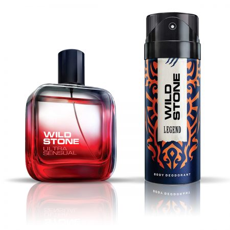 Wild Stone Legend Deodorant & Ultra Sensual Eau De Parfum for Men