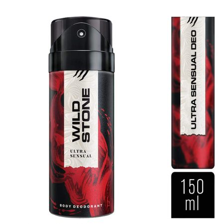 Wild Stone Ultra Sensual Deodorant & Edge Eau De Parfum for Men