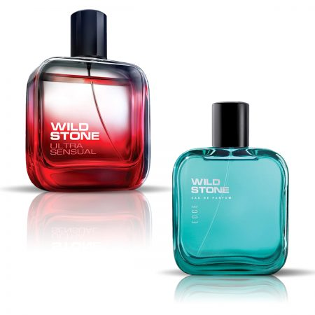 Wild Stone Ultra Sensual Eau De Parfum & Edge Eau De Parfum for Men
