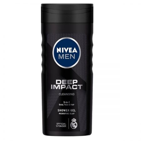 Nivea Men Deep Impact & Power Refresh Shower Gel 250ml (Pack of 2)