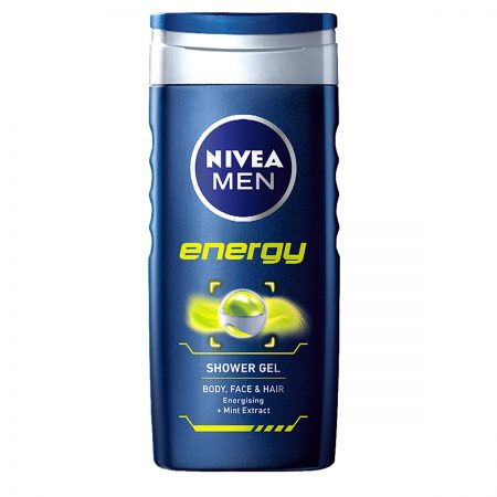 Nivea Men Pure Impact & Energy Shower Gel 250ml (Pack of 2)