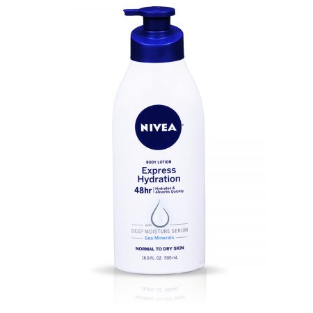 Nivea Whitening Cool Sensation & Express Hydration Body Lotion 700ml