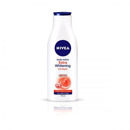 Nivea Body Milk Shea Smooth & Extra Whitening Body Lotion 275ml