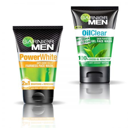 Garnier Men Oil Clear & PowerWhite Fairness Face Wash