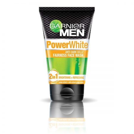 Garnier Men Oil Clear Icy & Power White Fairness Face Wash 200gm