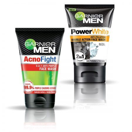 Garnier Men Power White Double Action & Acno Fight Anti Pimple Face Wash 200gm