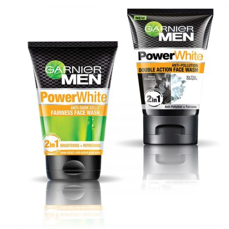 Garnier Men Power White Double Action & Power White Fairness Face Wash 200gm