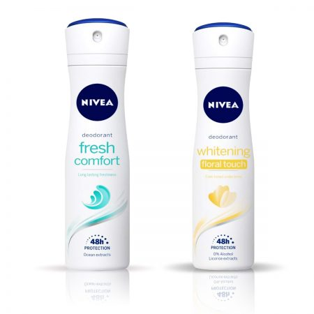 Nivea Whitening Floral Touch & Fresh Comfort Deodorant for Women 150ml