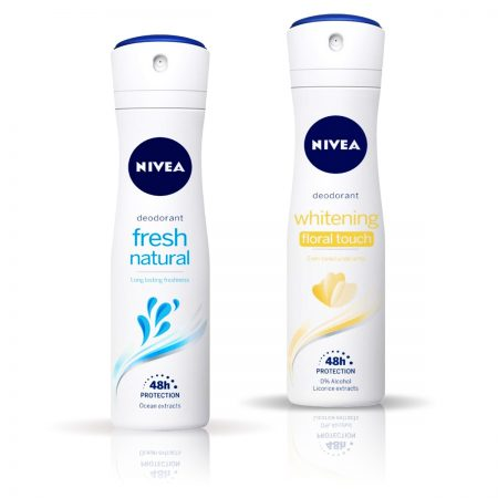 Nivea Whitening Floral Touch & Fresh Natural Deodorant for Women 150ml