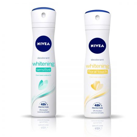 Nivea Whitening Floral Touch & Sensitive Deodorant for Women 150ml