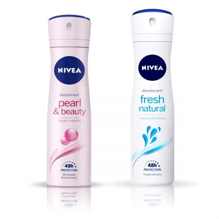 NIVEA Pearl and Beauty & Fresh Natural