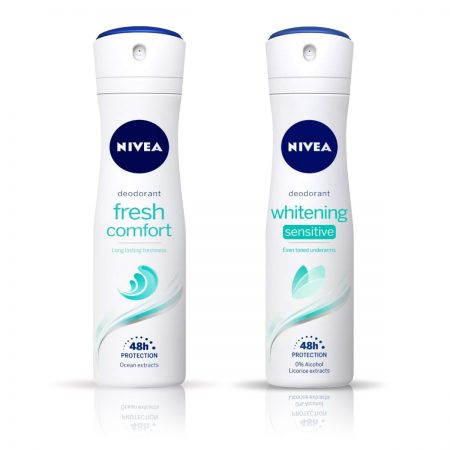 Nivea Whitening Sensitive & Fresh Comfort Deodorant for Women 150ml