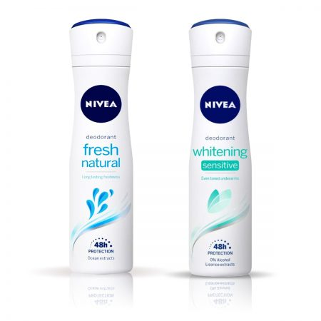 Nivea Whitening Sensitive & Fresh Natural Deodorant for Women 150ml