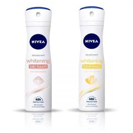 Nivea Talc Touch & Floral Touch Deodorant for Women 150ml