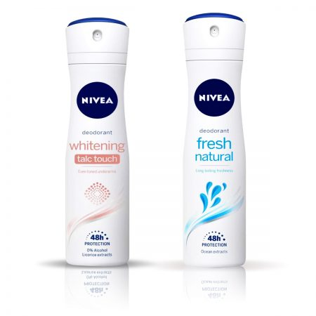 Nivea Talc Touch & Fresh Natural Deodorant for Women 150ml