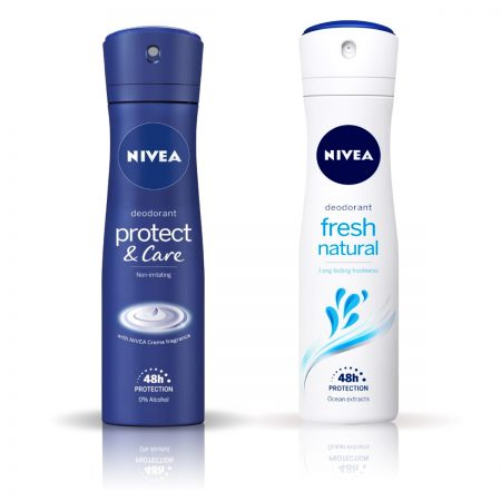 Nivea Protect and Care & Fresh Natural Deodorant for Women 150ml