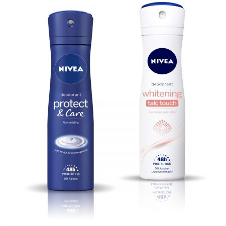 NIVEA protect and Care & Talc Touch