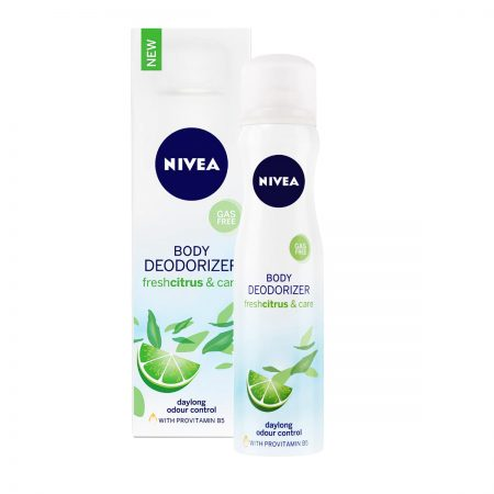 Nivea Whitemusk and Care & Freshcitrus and Care Body Deodorizer for Women 120ml