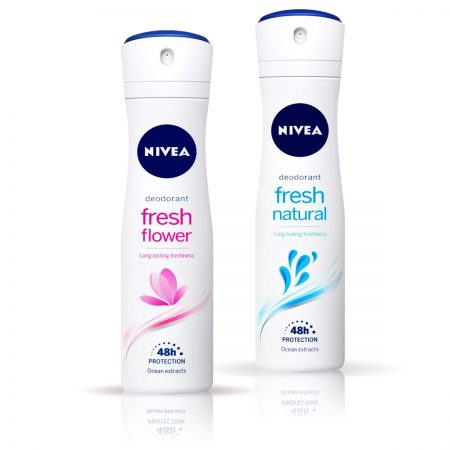 Nivea Fresh Flower & Fresh Natural Deodorant for Women 150ml