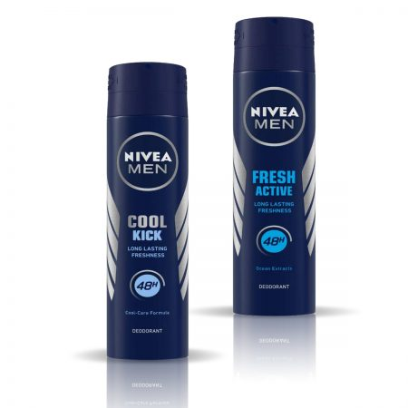 Nivea Man Cool Kick & Fresh Active Deodorant for Men 150ml