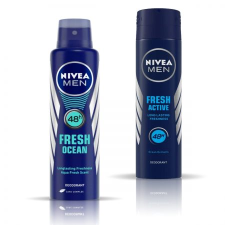 Nivea Man Fresh Ocean & Fresh Active Deodorant for Men 150ml