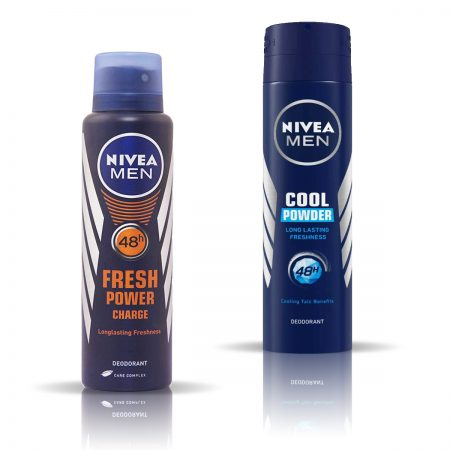 Nivea Man Fresh Power & Cool Powder Deodorant for Men 150ml