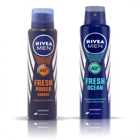 Nivea Man Fresh Power & Fresh Ocean Deodorant for Men 150ml
