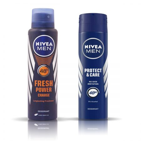 Nivea Man Fresh Power & Protect and Care Deodorant for Men 150ml