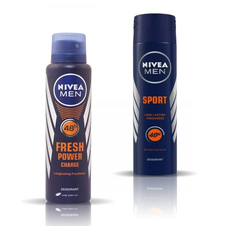 Nivea Men Fresh Power & Sport Deodorant for Men 150ml