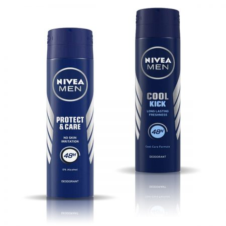 Nivea Men Cool Kick & Protect and Care Deodorant for Men 150ml