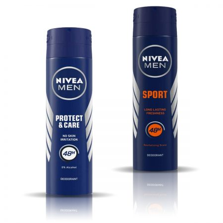 Nivea Men Protect and Care & Sport Deodorant for Men 150ml