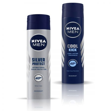 Nivea Men Cool Kick & Silver Protect Deodorant for Men 150ml