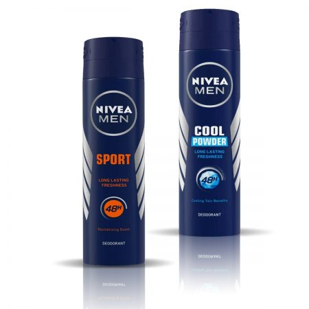Nivea Men Sport & Cool Powder Deodorant for Men 150ml