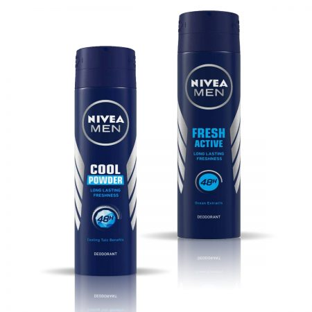 Nivea Men Cool Powder & Fresh Active Deodorant for Men 150ml