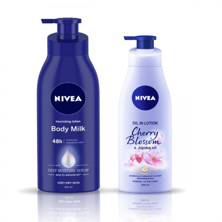 Nivea Nourishing Body Milk & Cherry Blossom