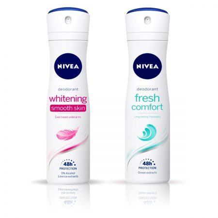 Nivea Whitening Smooth Skin & Fresh Comfort Deodorant for Women 150ml