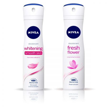 Nivea Whitening Smooth Skin & Fresh Flower Deodorant for Women 150ml