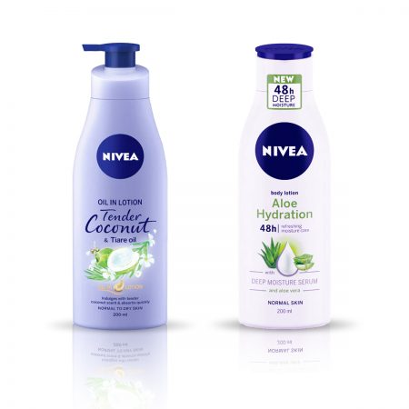 Nivea Tender Coconut and Tiare Oil & Aloe Hydration Body Lotion 400ml