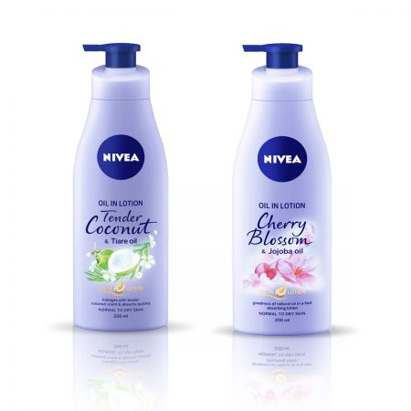 Nivea Tender Coconut and Tiare Oil & Cherry Blossom Body Lotion 400ml