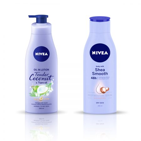 Nivea Tender Coconut and Tiare Oil & Shea Smooth Body Lotion 400ml