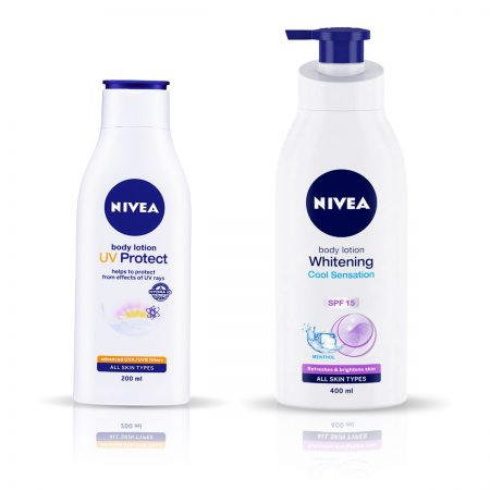 Nivea UV Protect & Whitening Cool Sensation Body Lotion 600ml