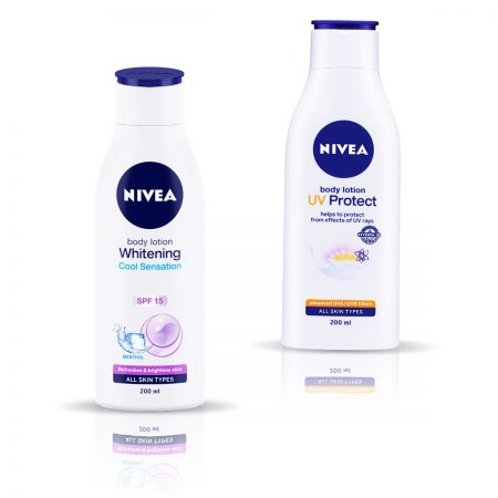 Nivea Whitening Cool Sensation & UV Protect Body lotion 400ml