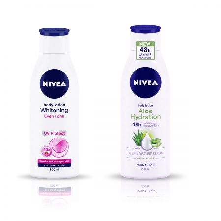 Nivea Whitening Even Tone UV Protect & Aloe Hydration Lotion, 400ml