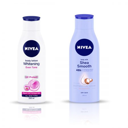 Nivea Whitening Even Tone UV Protect & Shea Smooth Body Lotion, 400ml