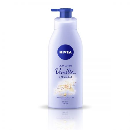 Nivea Whitening Cool Sensation &  Vanilla and Almond Oil Body lotion 600ml