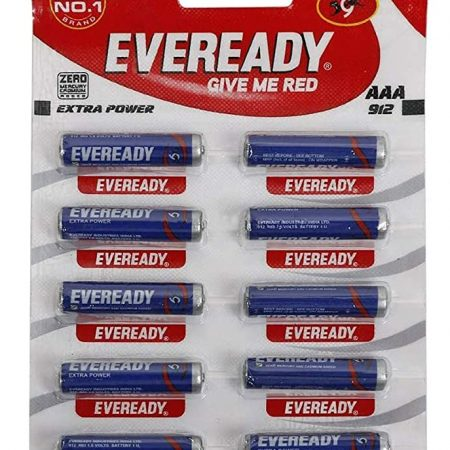Eveready  AAA Battery 912 Extra Power Pack of 10